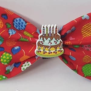 Birthday Party Balloons Dog Bow Tie